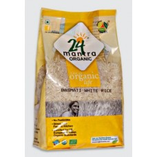 24 Mantra Organic Basmati Rice Premium Polished 1kg