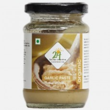 24 Mantra Organic Garlic Paste 140 Gms