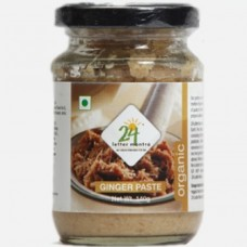 24 Mantra Organic Ginger Paste 140 Gms