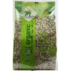 24 Mantra Organic Green Moong Dal Split 1kg