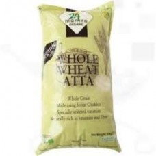 24 Mantra Organic Whole Wheat Atta Premium 10kg