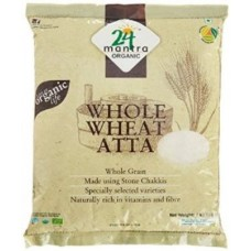 24 Mantra Organic Whole Wheat Atta Premium 1kg