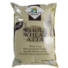 24 Mantra Organic Whole Wheat Atta Premium 5kg