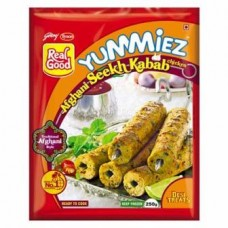 Afghani Chicken Seekh Kabab - Yummiez - 250.00 Gm