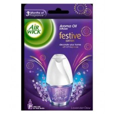Air Wick Aroma Oil Diffuser Lavender Spa Air Freshener Device + Refill 1 Pc