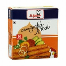 Al Kabeer Chicken - Seekh Kabab, 400 Gm