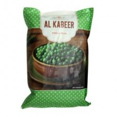 Al Kabeer Green Peas, 1000 Gm