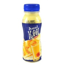 Amul Kool Kesar Milk Shake Bottle 200 ml