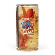 Amul Kool Milk Shaake Badam Can 180 Ml