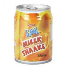 Amul Kool Milk Shaake Mango Can 180 Ml