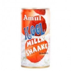Amul Kool Milk Shake Strawberry Can 180 ml