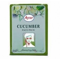 Ayur Cucumber Face Pack 100 gm -2 pack-