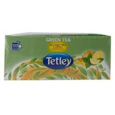 Tata Tetley Green Tea Bags Ginger Mint Lemon 100 Pc