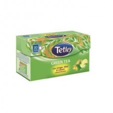 Tata Tetley Green Tea Bags Ginger Mint Lemon 30 Pc