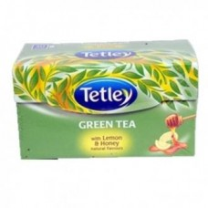 Tata Tetley Green Tea Bags Lemon & Honey 100 Pc