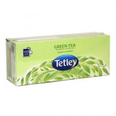 Tata Tetley Green Tea Bags Regular 100 Pc