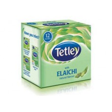 Tata Tetley Tea Bags Elachi 12 Pc