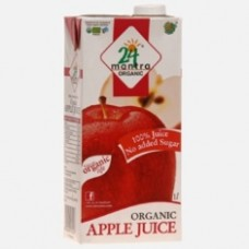 24 Mantra Organic Apple Juice 1L
