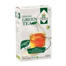 24 Mantra Organic Green Tea 100 G