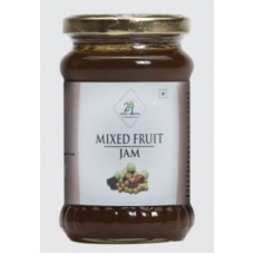 24 Mantra Organic Mixed Fruit Jam 375 G