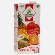 24 Mantra Organic Mixed Fruit Juice 1L