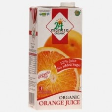 24 Mantra Organic Orange Juice 1L
