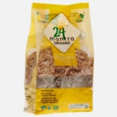 24 Mantra Organic Red Poha (Flattened Rice) 500 Gms