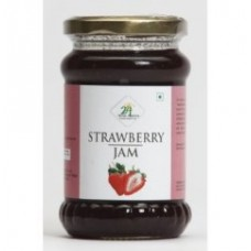 24 Mantra Organic Strawberry Jam 375 Gms