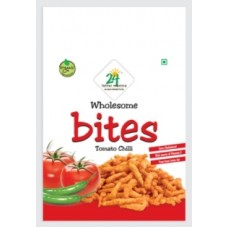 24 Mantra Organic Tomato Chilly Bites 40 Gms