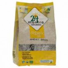 24 Mantra Organic Wheat Bran 500 Gms