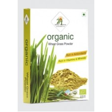 24 Mantra Organic Wheat Grass Powder 100 Gms