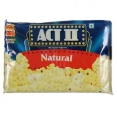 ACT II Microwave Popcorn Natural 33 Gm Pouch
