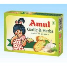 Amul Garlic And Herbs Buttery Spread 100g