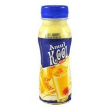 Amul Kool Kesar Flavoured Milk 200 ML Tetrapak