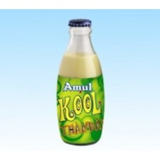 Amul Kool Thandai Flavoured Milk 200 ML Glass Bottle