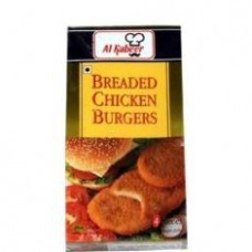 Al Kabeer Breaded Chicken Burgers 4pcs 360g
