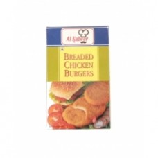 Al Kabeer Breaded Chicken Burgers 6pcs