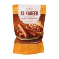 Al Kabeer Cheese Chicken Sausages 250g