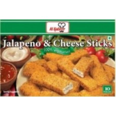 Al Kabeer Jalapeno Cheese Sticks 10pcs
