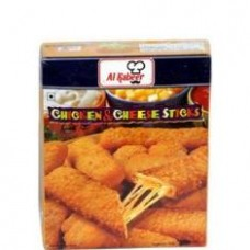 Al Kabeer Jalapeno Chicken Cheese 10pcs Sticks 400g