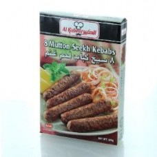 Al Kabeer Mutton Seekh Kababs 8pcs 320g