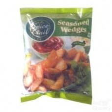 Al Kabeer Seasoned Wedges 400g