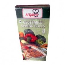 Al Kabeer Vegetable Spring Rolls 8pcs 240g
